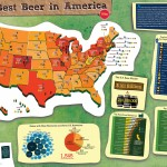 The Best Beers in America Infographic