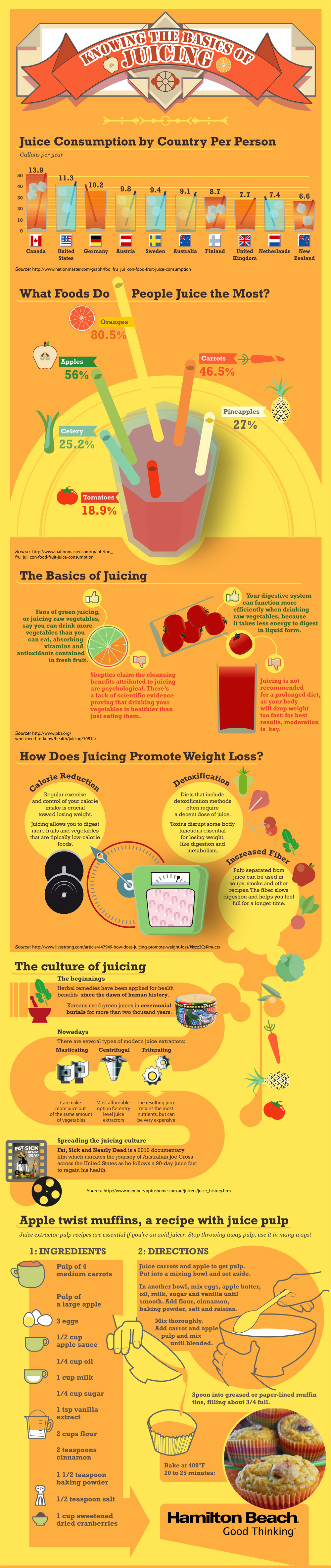The Basics of Juicing Infographic - An Infographic from Infographics Showcase