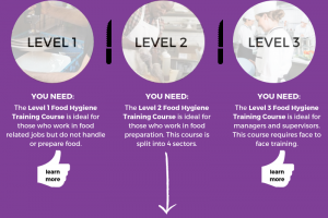 Food Hygiene Training Infographic