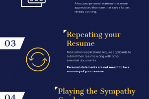 6 Mistakes That will Ruin Your Personal Statement